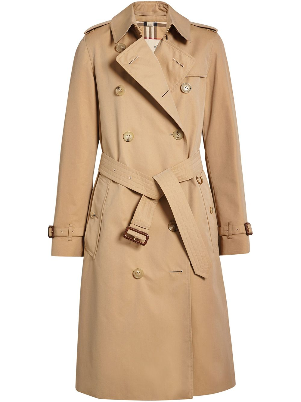 Burberry The Long Kensington Heritage Trench Coat - Neutrals von Burberry