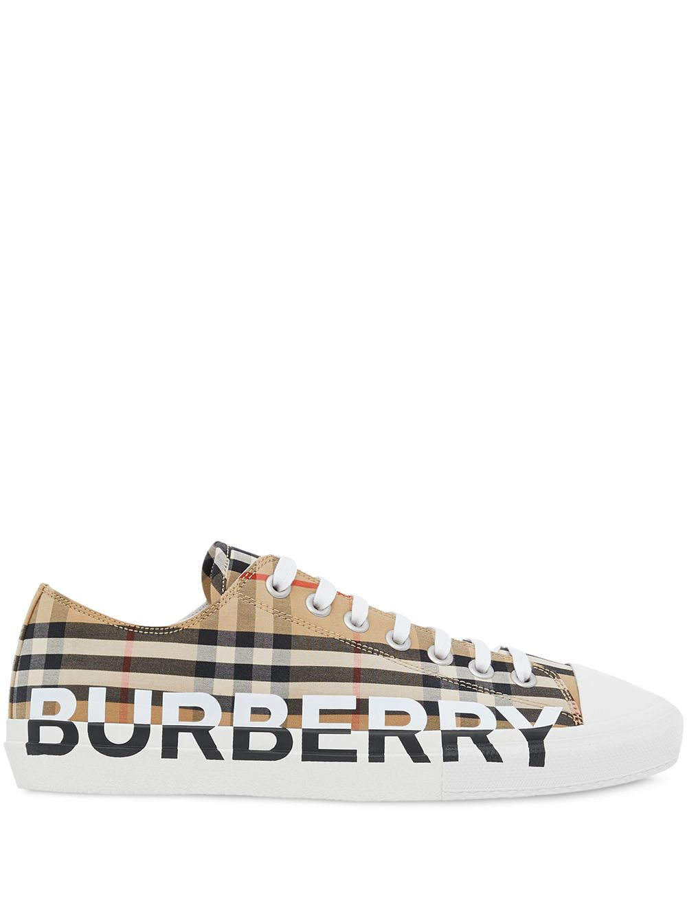 Burberry Vintage check low-top sneakers - Neutrals von Burberry