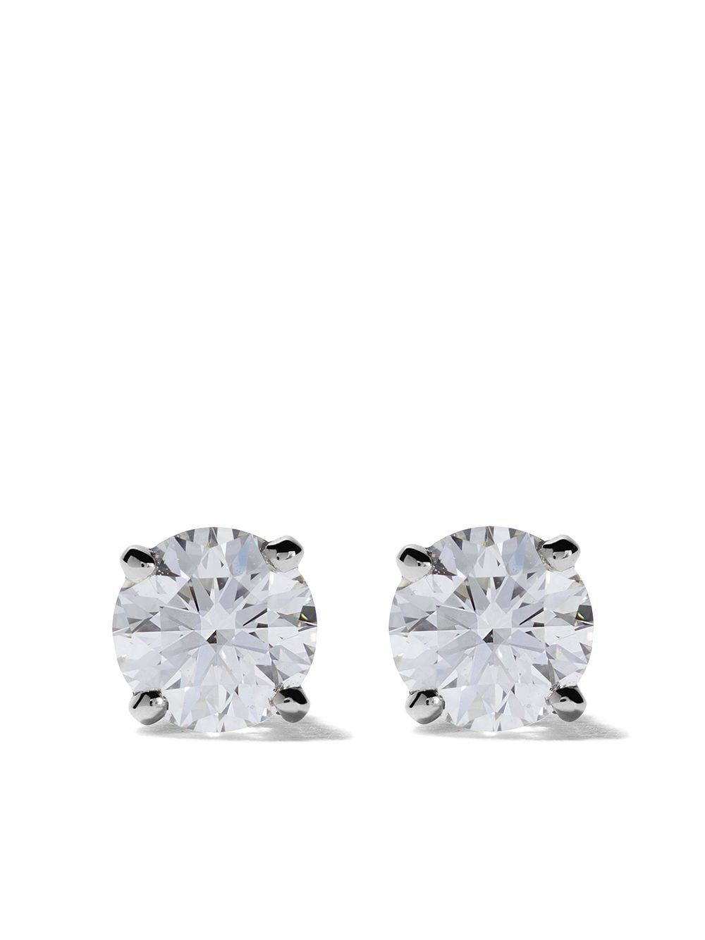 De Beers Platinum My First De Beers DB Classic diamond stud earrings von De Beers
