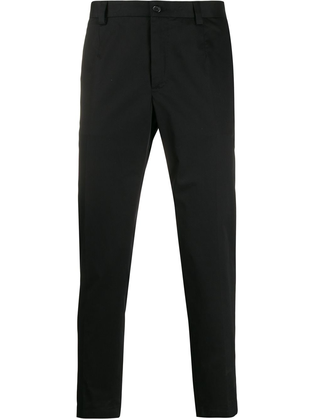 Dolce & Gabbana straight leg tailored trousers - Black von Dolce & Gabbana