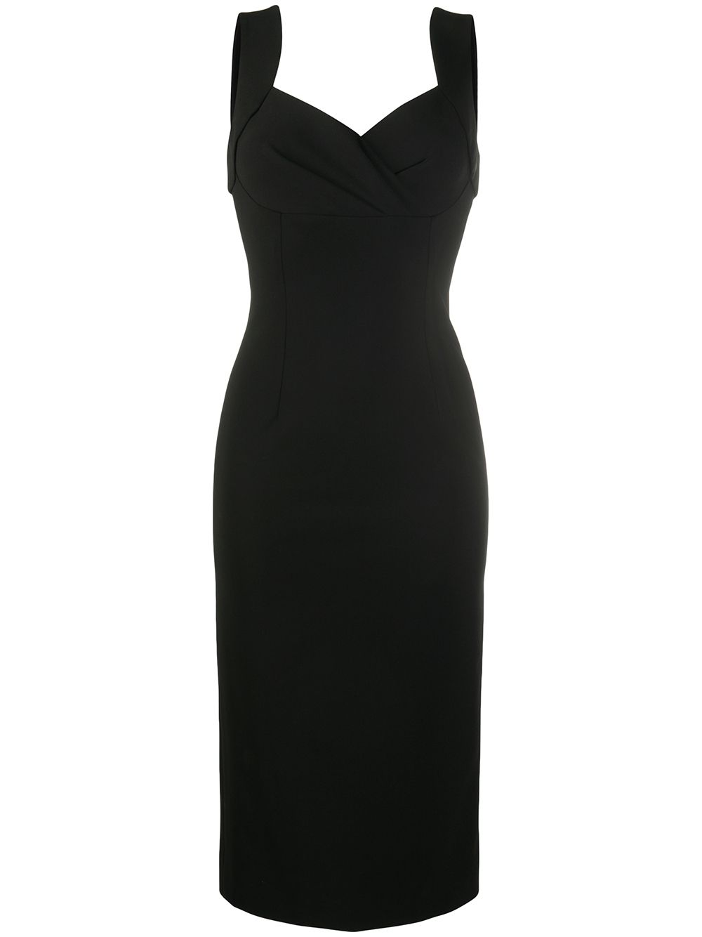 Dolce & Gabbana sleeveless midi dress - Black von Dolce & Gabbana