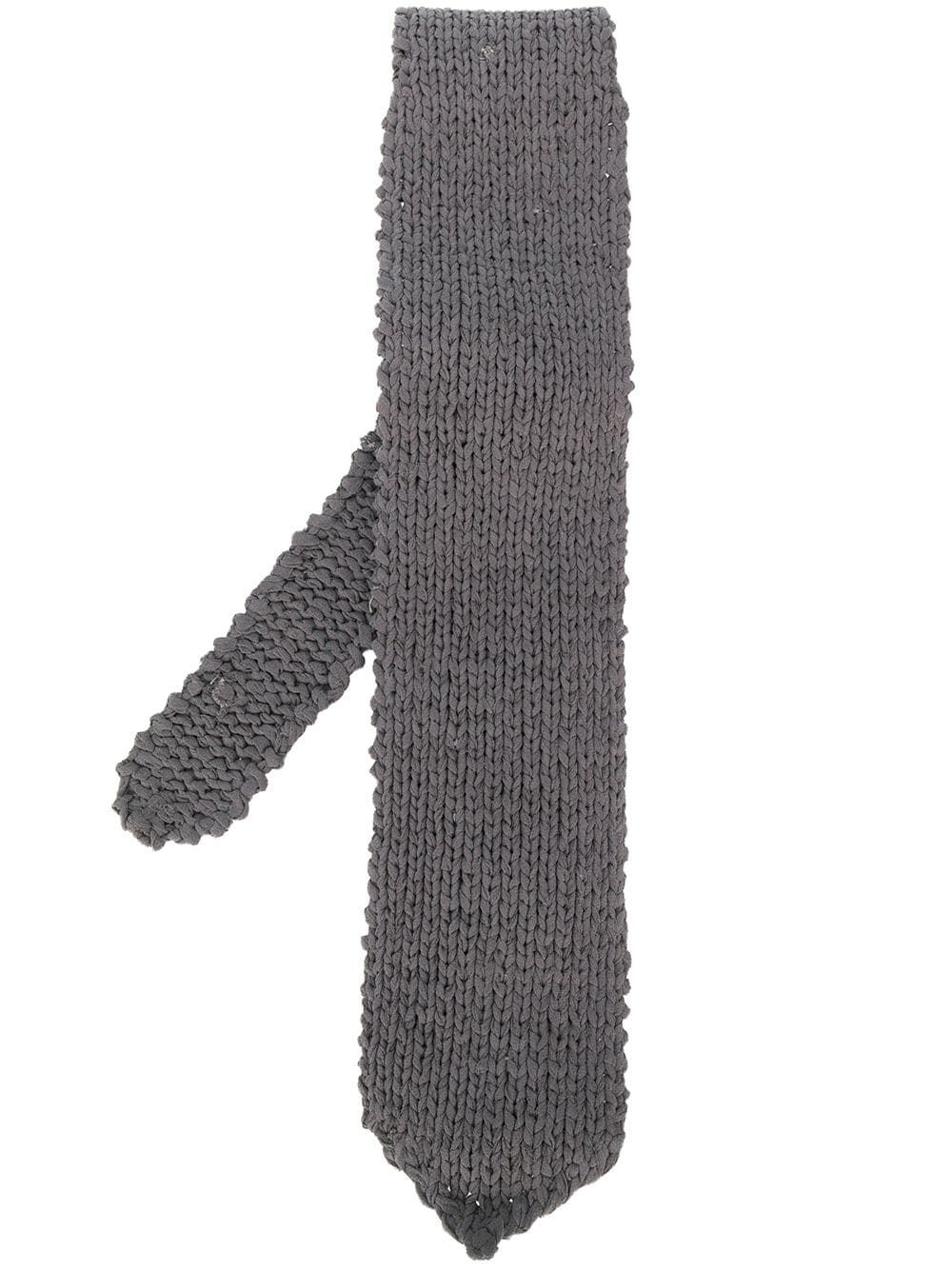 Gianfranco Ferré Pre-Owned 1990s knitted tie - Grey von Gianfranco Ferré Pre-Owned