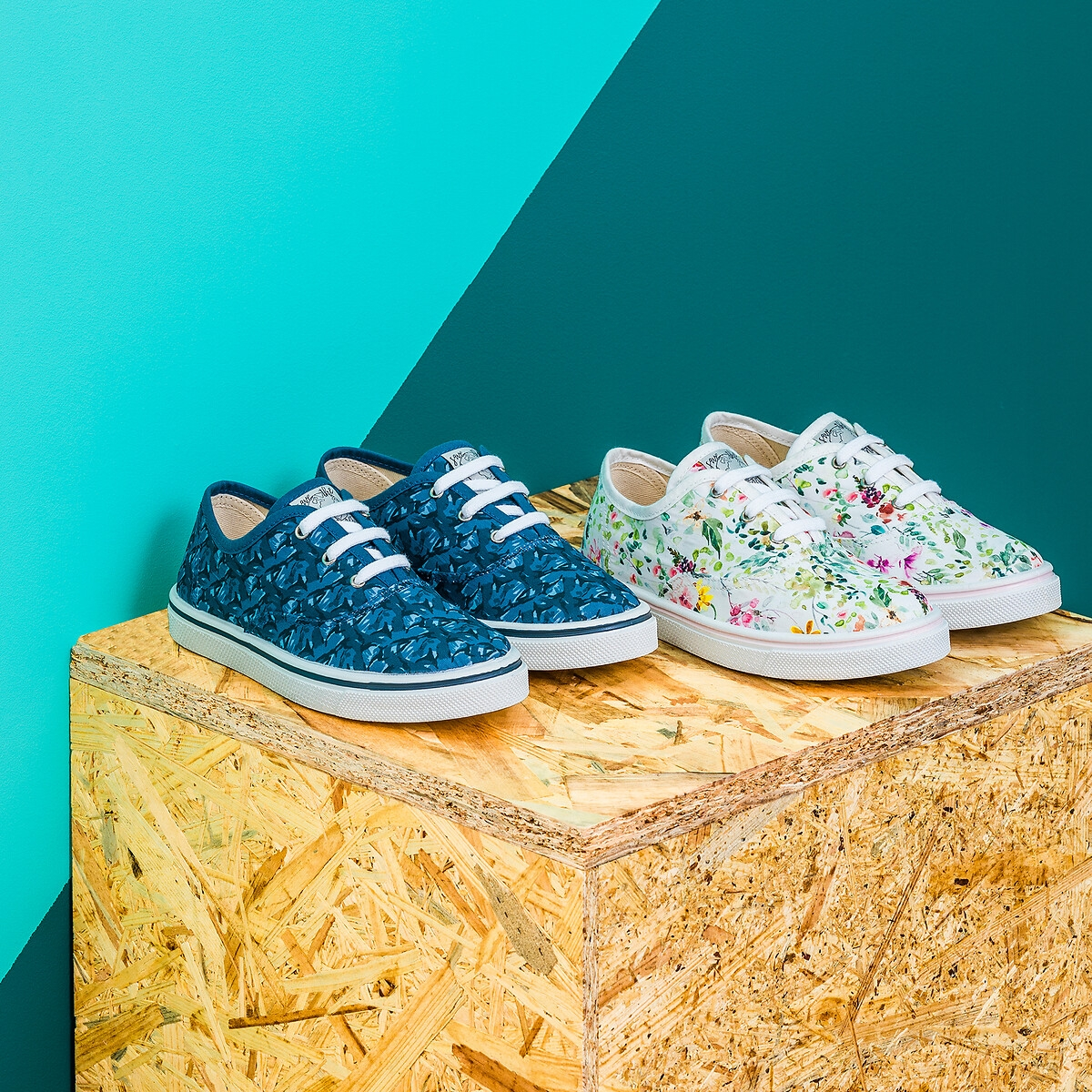 Sneakers aus Recycling-Textil Gr. 26-39 von LA REDOUTE COLLECTIONS