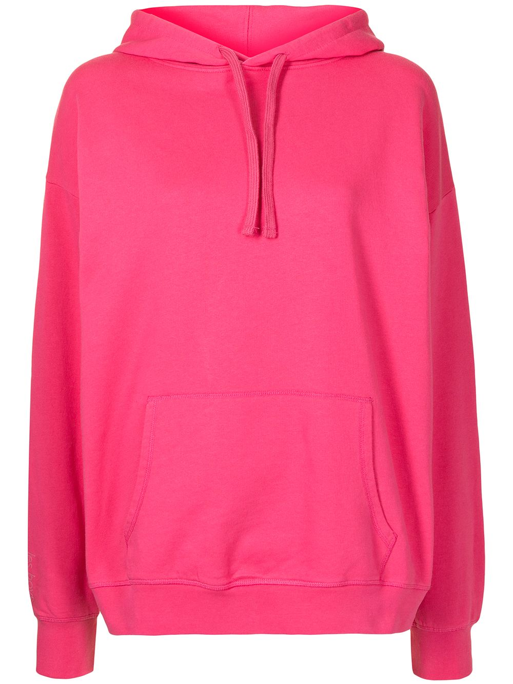 Les Girls Les Boys loopback hoodie - Pink von Les Girls Les Boys