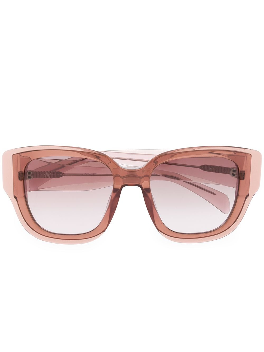 Linda Farrow Senna oversized sunglasses - PURPLE von Linda Farrow