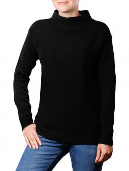 Marc O'Polo Pullover Long Sleeves Structure Mix black von Marc O'Polo