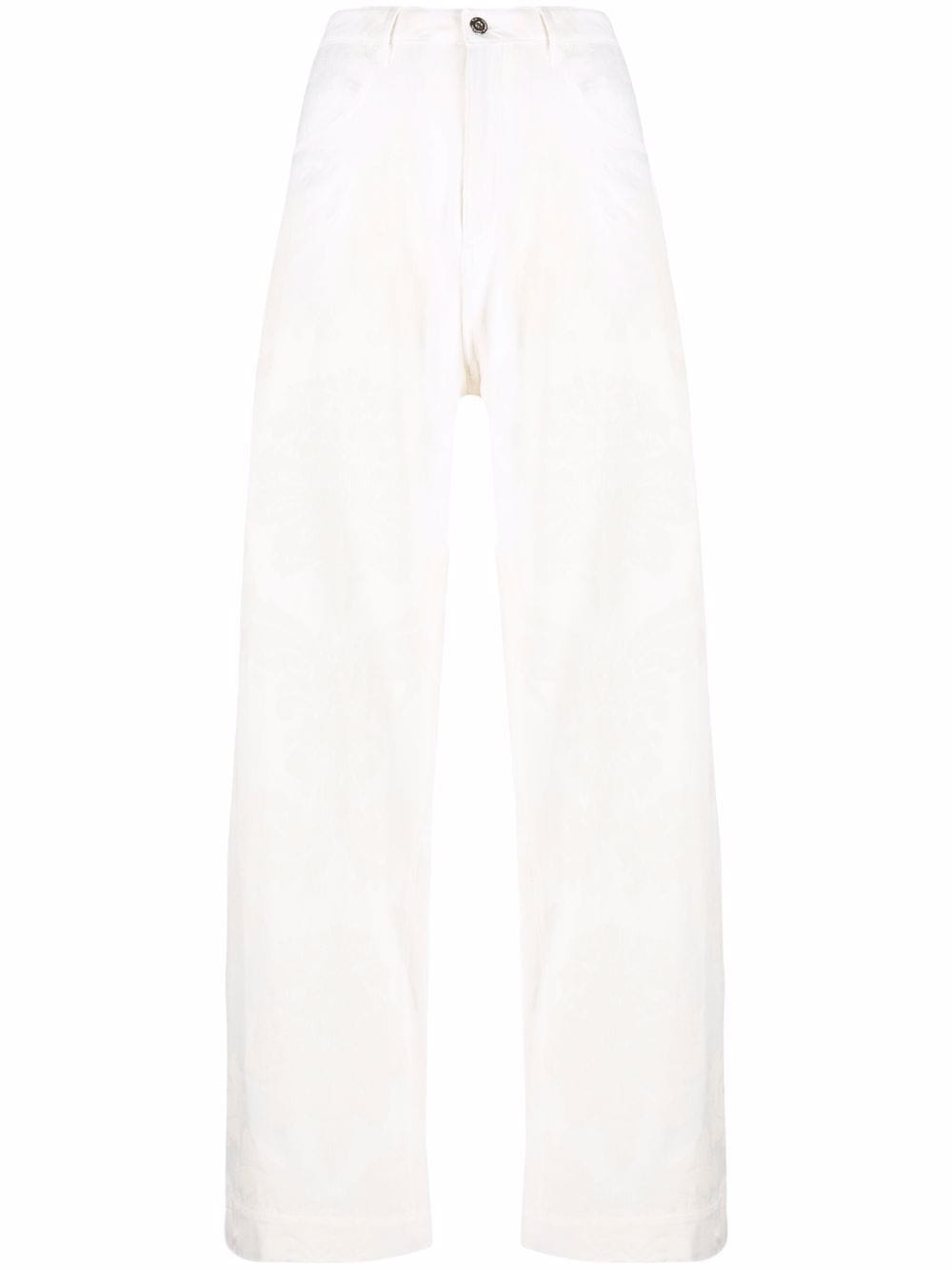 Marques'Almeida high-rise wide-leg trousers - Neutrals von Marques'Almeida