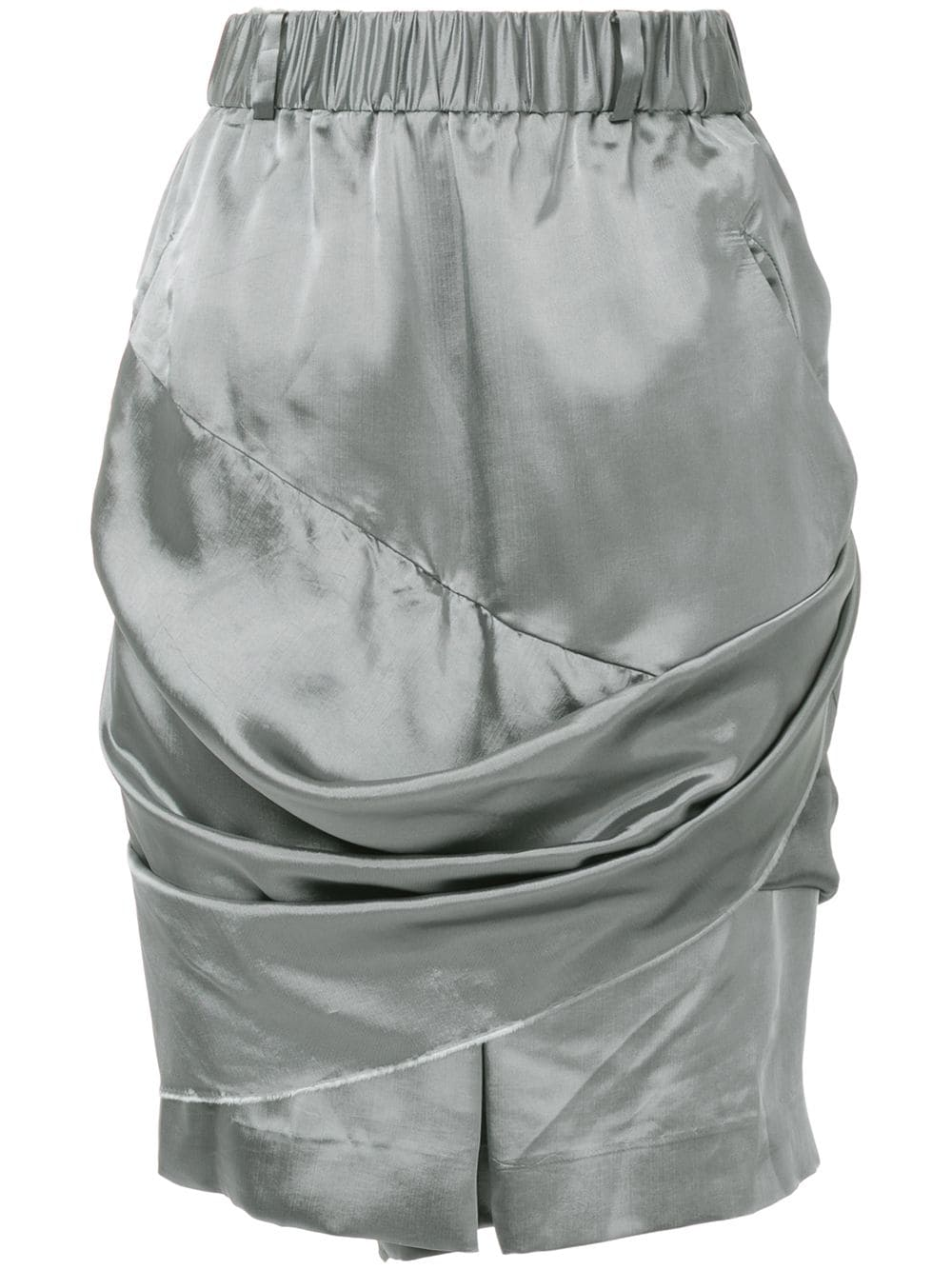 Moohong draped shorts - Metallic von Moohong