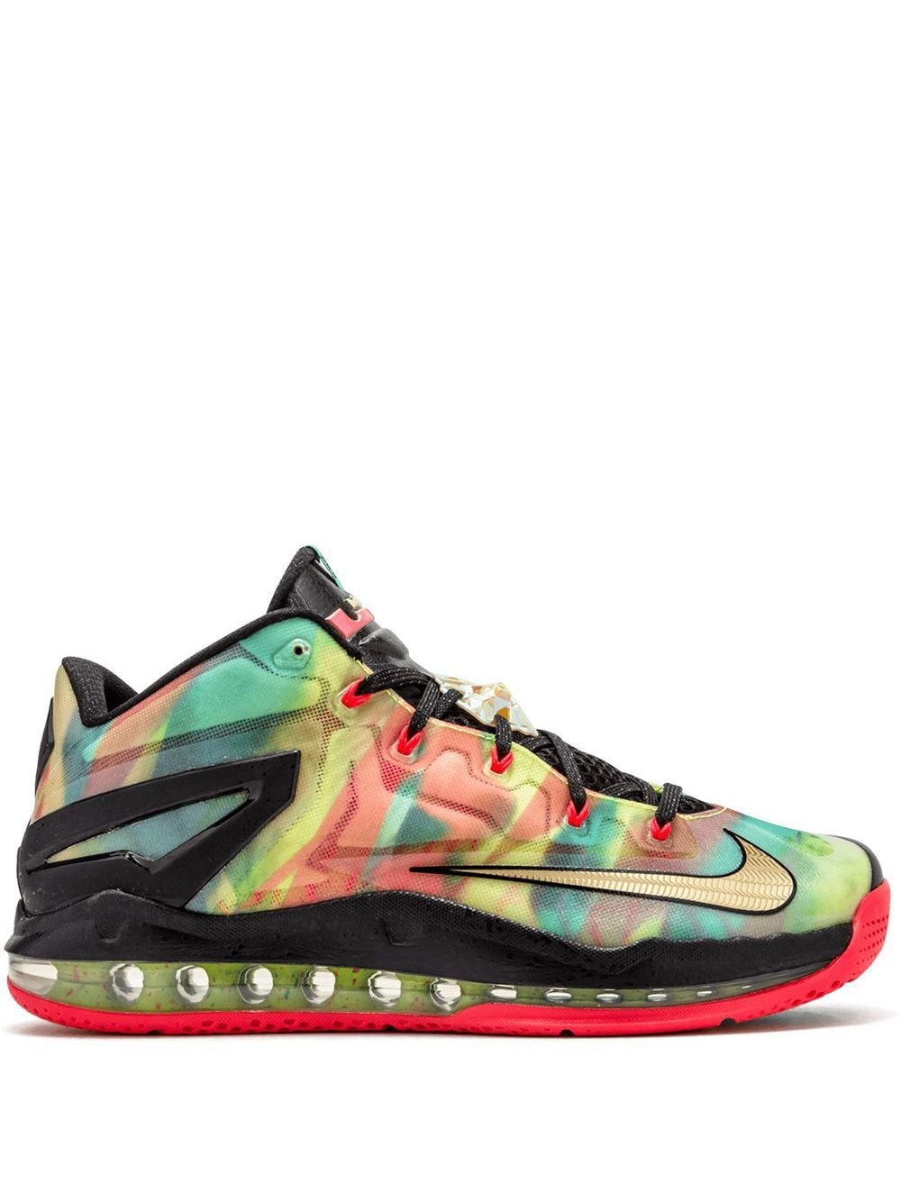 Nike Max Lebron 11 Low SE - Multi-Color/Metallic Gold von Nike