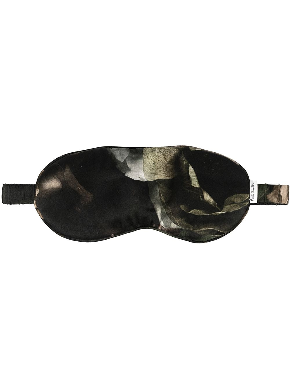 Paul Smith abstract print sleep mask - Black von Paul Smith