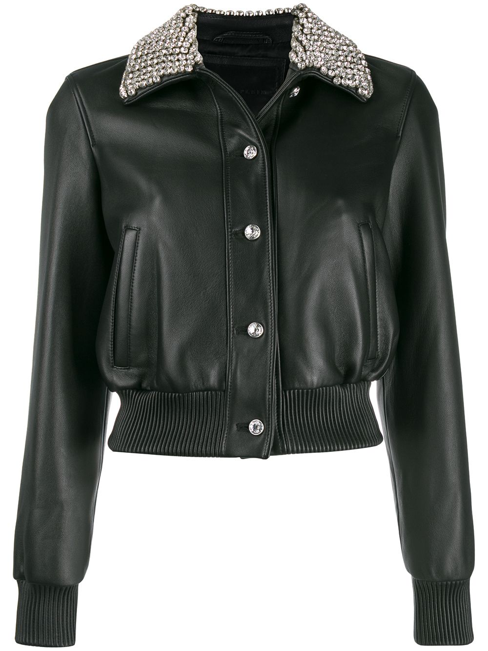 Philipp Plein cropped bomber jacket - Black von Philipp Plein