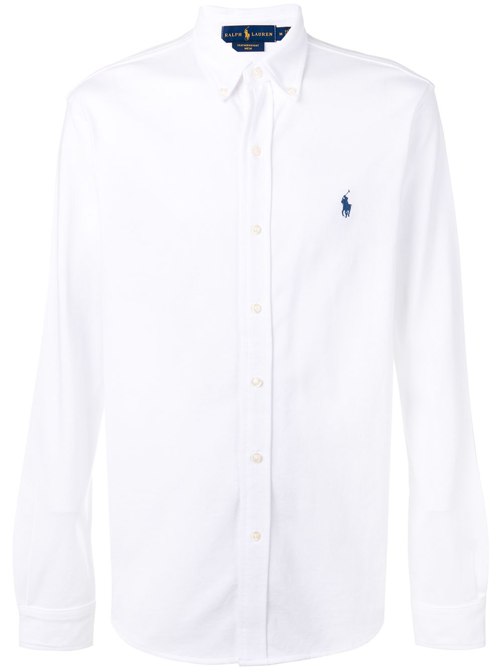 Polo Ralph Lauren button down logo shirt - White von Polo Ralph Lauren