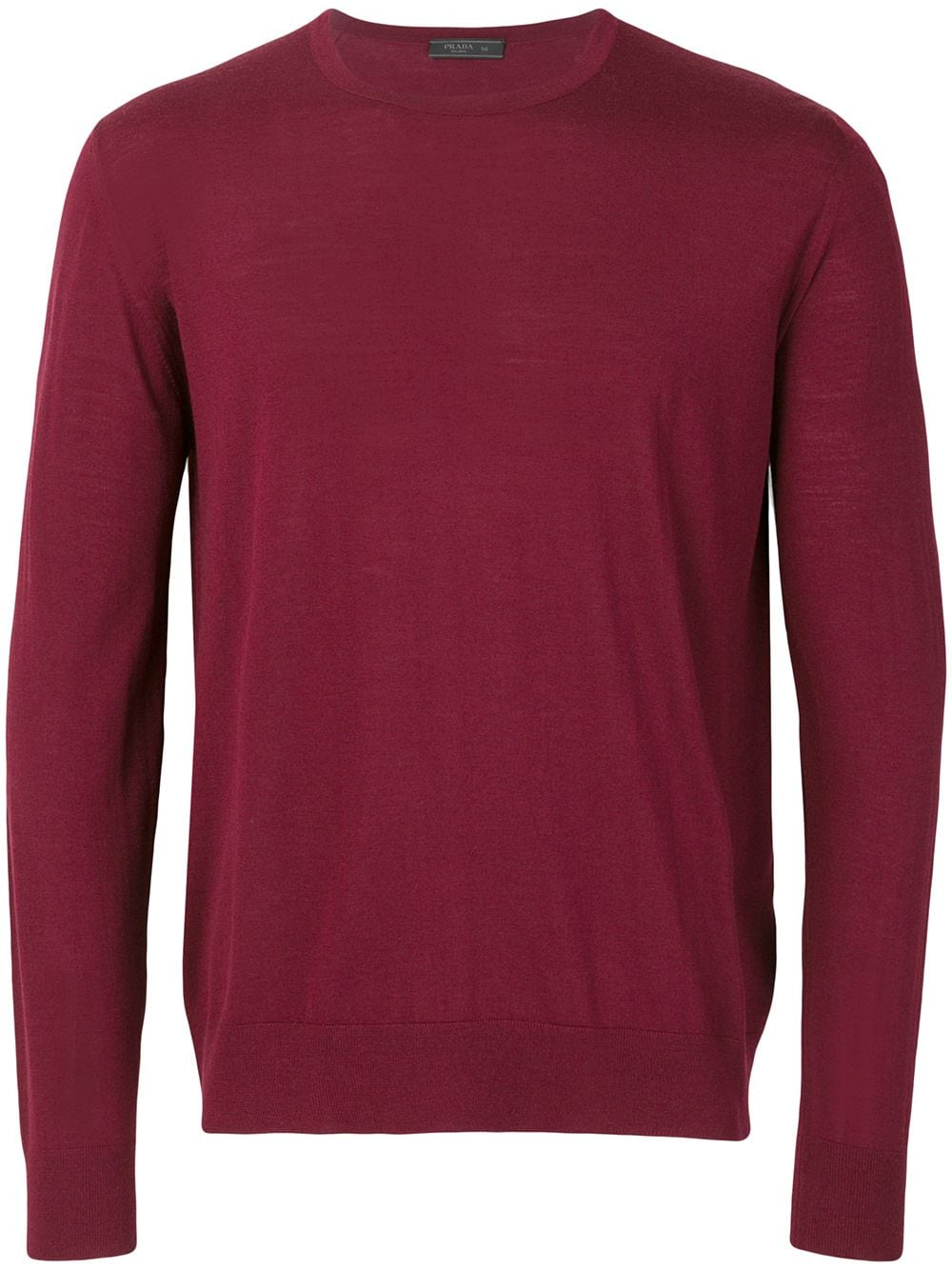 Prada crew neck jumper - Red von Prada