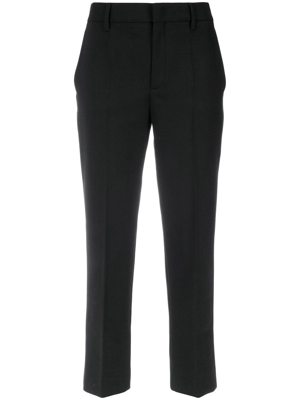Prada cropped straight-leg trousers - Black von Prada