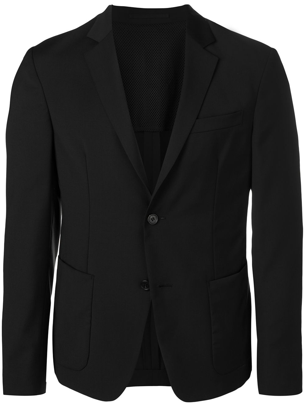 Prada single breasted blazer - Black von Prada