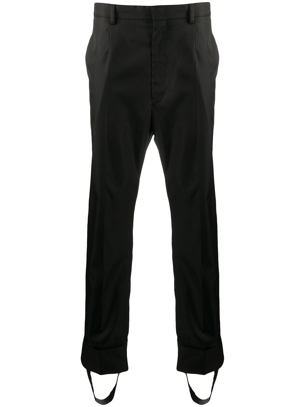 Prada straight-leg trousers - Black von Prada