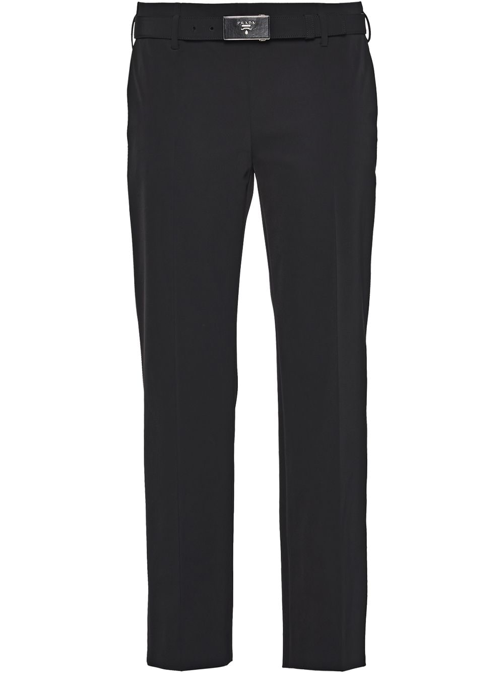 Prada technical fabric trousers - Black von Prada