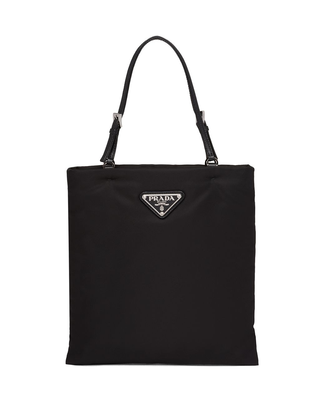 Prada top handle tote bag - Black von Prada