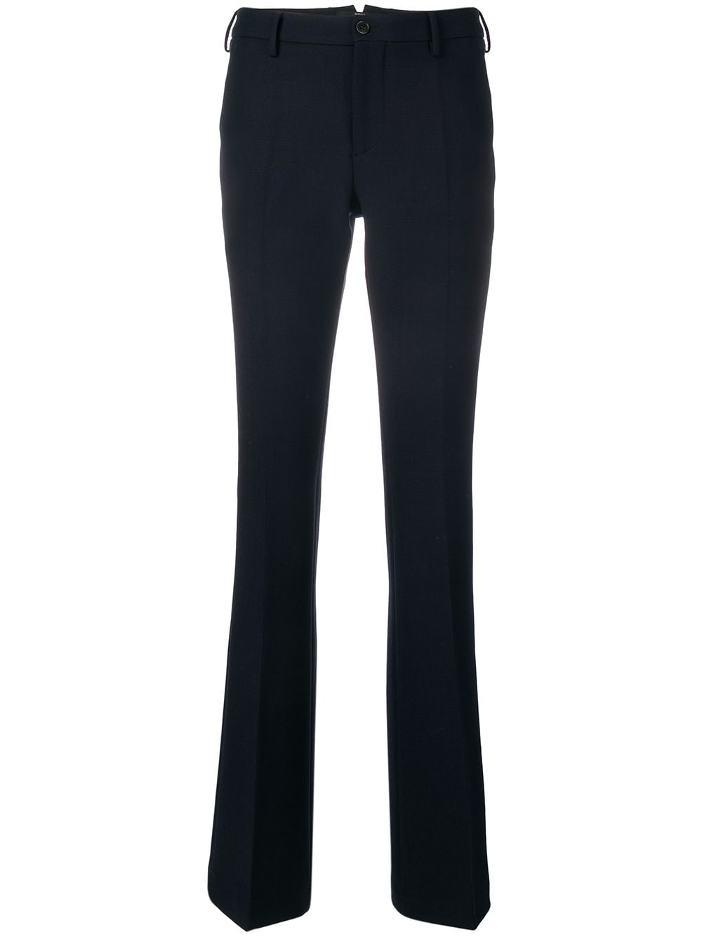 Pt01 tailored flared trousers - Blue von Pt01