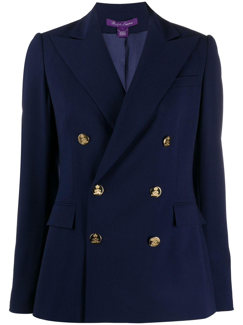 Ralph Lauren Collection tailored double-breasted blazer - Blue von Ralph Lauren Collection