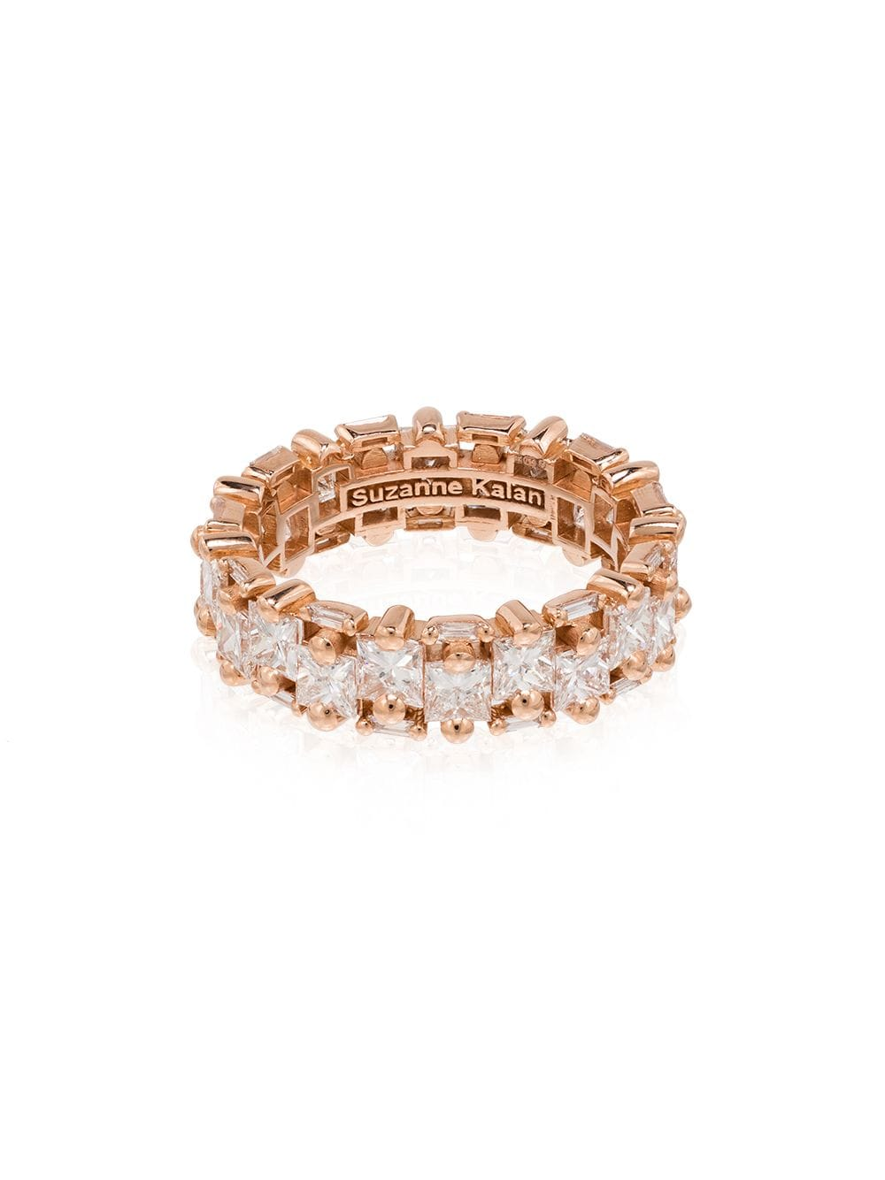 Suzanne Kalan 18kt rose gold diamond eternity ring von Suzanne Kalan