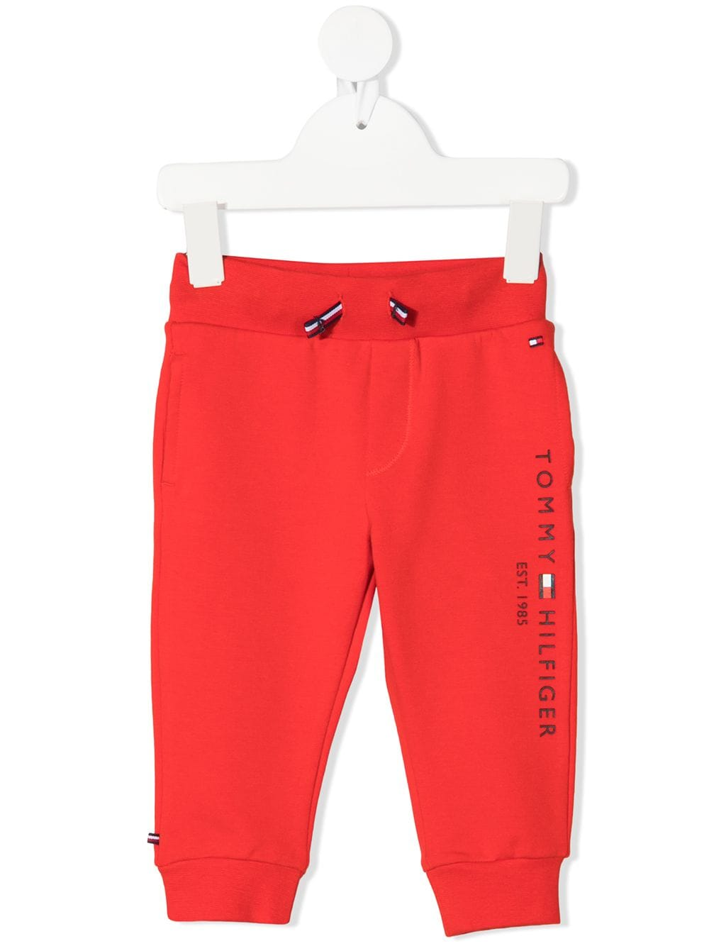 Tommy Hilfiger Junior Essential embroidered logo track pants von Tommy Hilfiger Junior