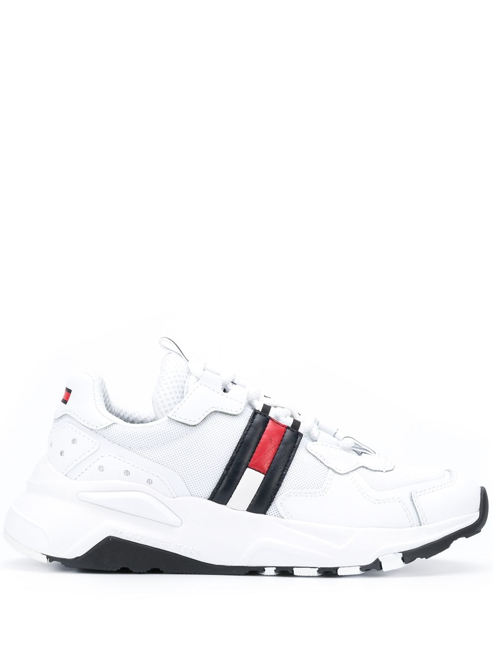 Tommy Jeans colour-block chunky sneakers - White von Tommy Jeans