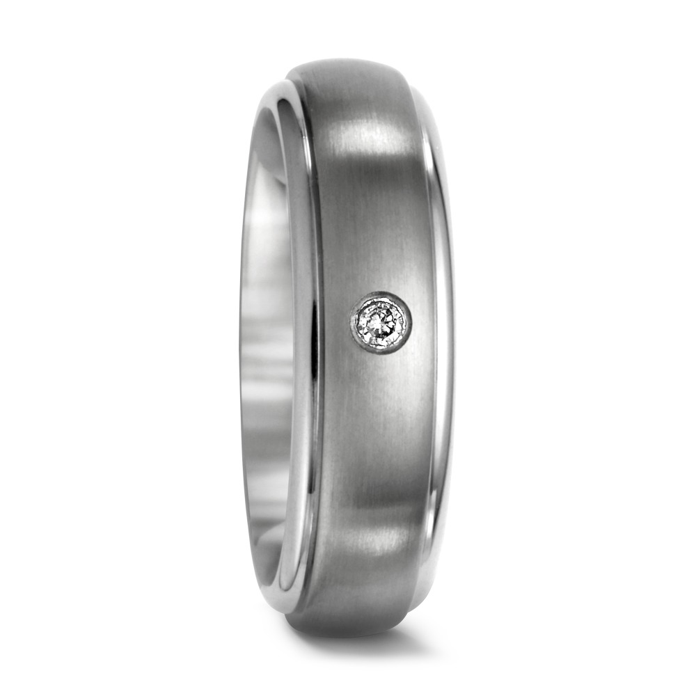 Partnerring Titan Diamant 0.03 ct von Urech