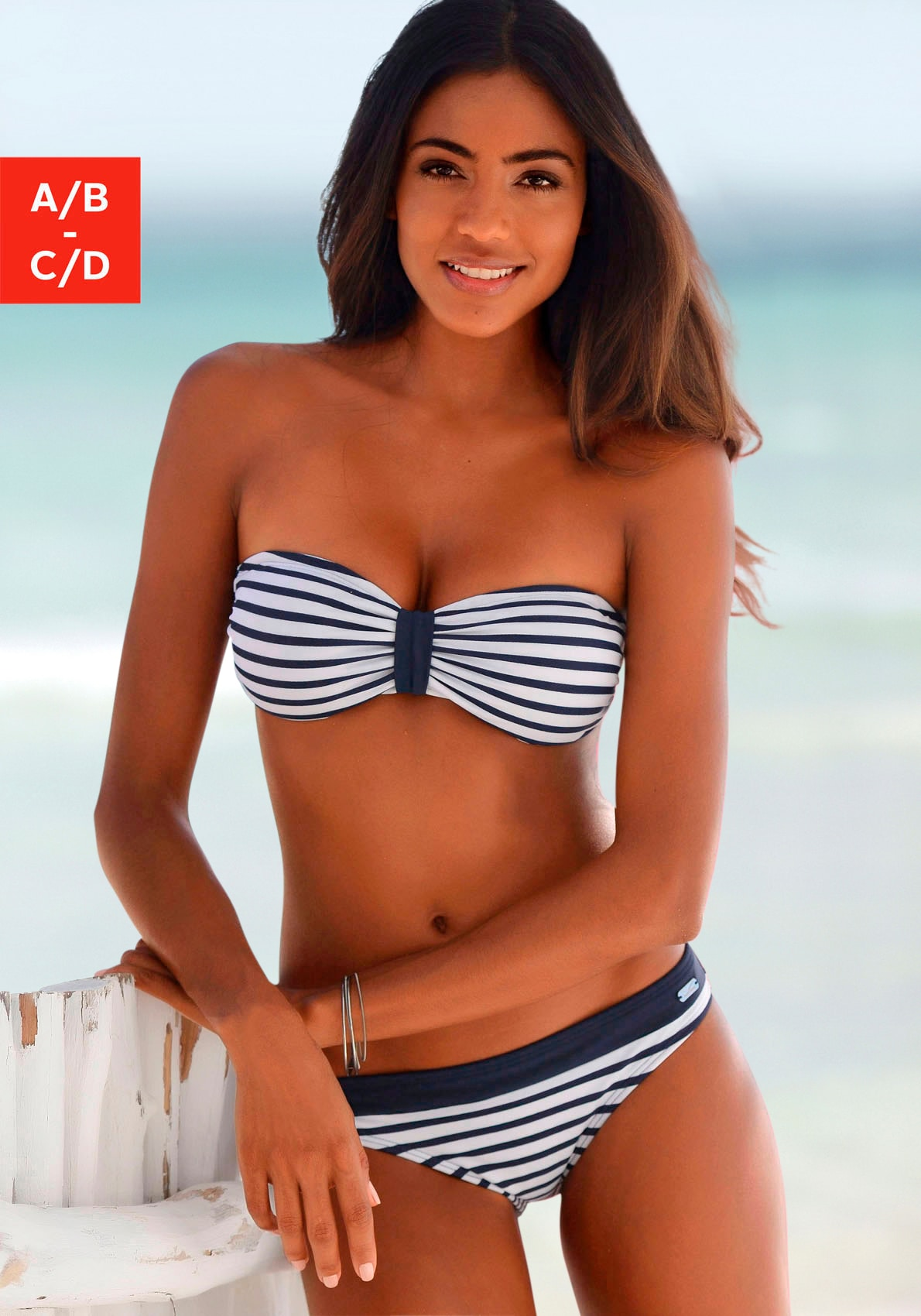 Venice Beach Bandeau-Bikini-Top »Summer« von Venice Beach