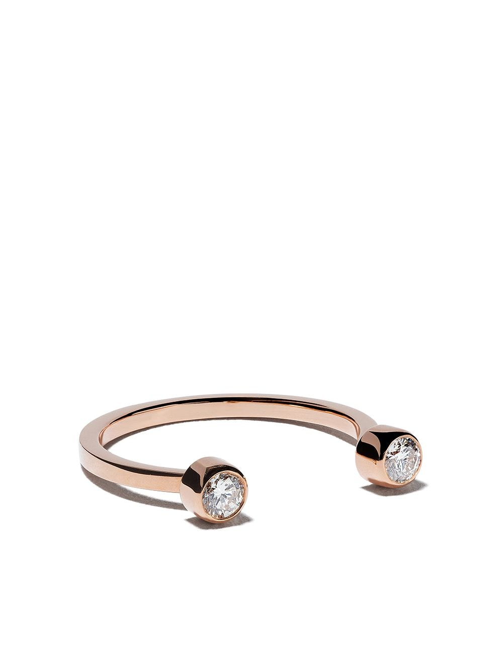 Vanrycke 18kt rose gold diamond Mademoiselle Else ring von Vanrycke