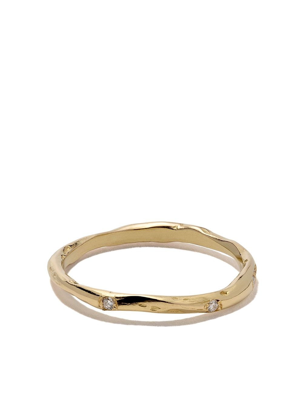 Wouters & Hendrix Gold 18kt yellow gold Diamond band von Wouters & Hendrix Gold