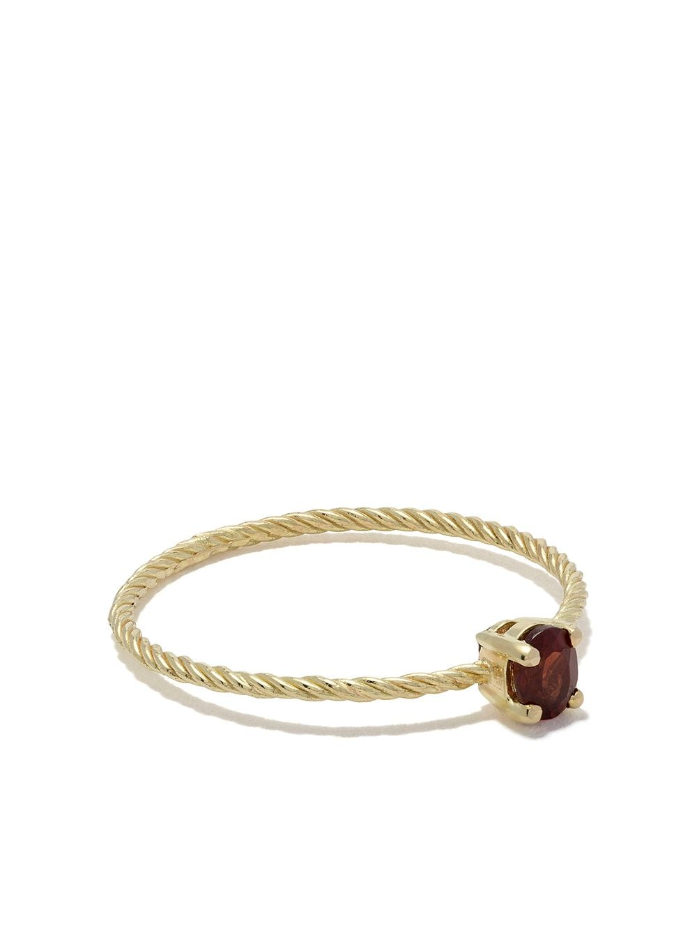Wouters & Hendrix Gold 18kt yellow gold Garnet ring von Wouters & Hendrix Gold