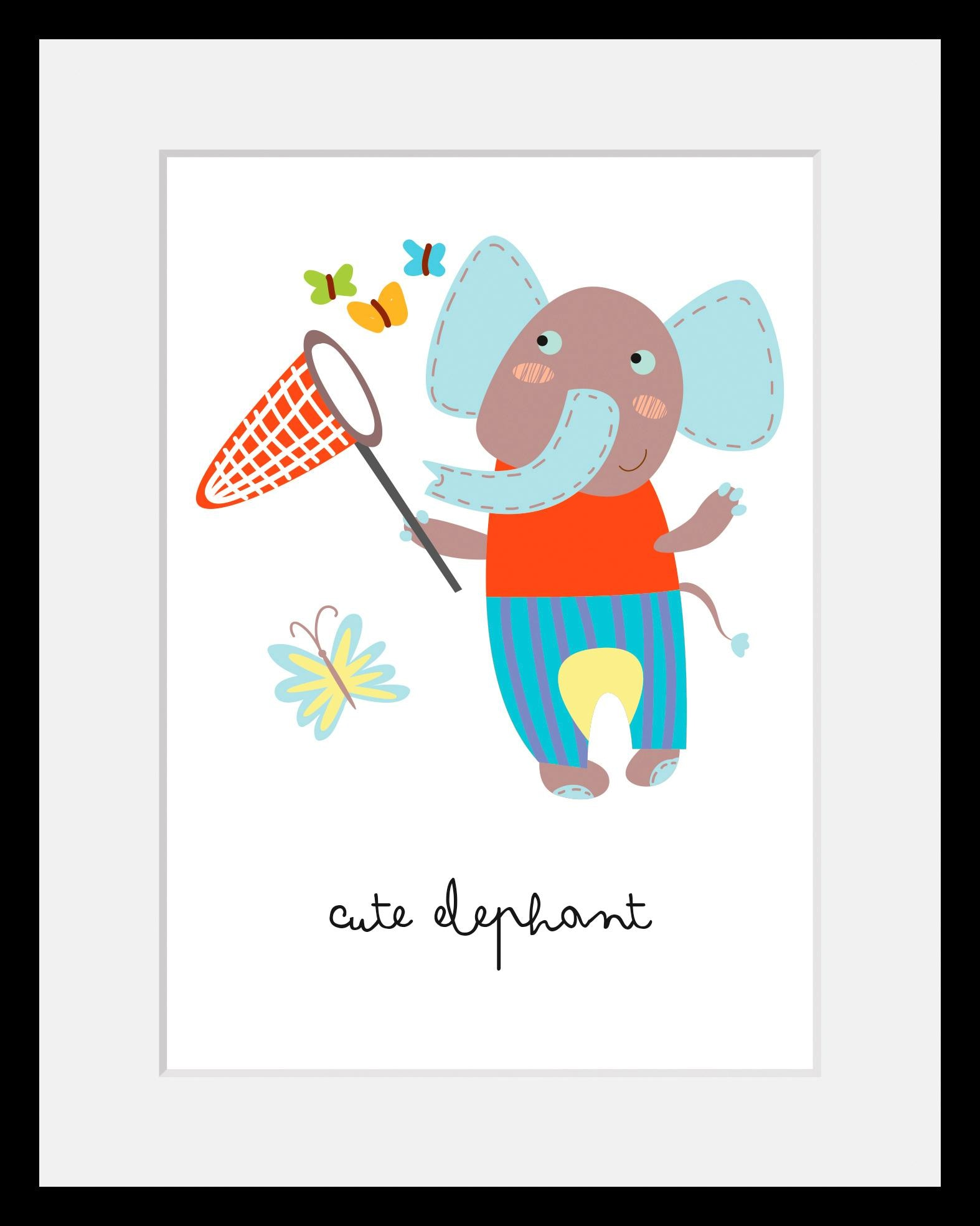 Home affaire Bild »Elefant« von home affaire